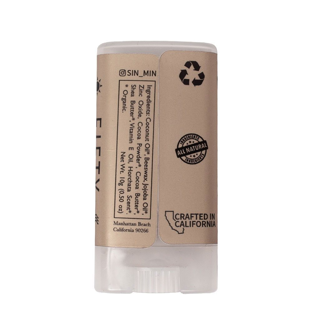 Sin-Min Shade Organic Sunscreen Face Stick - Grooming - Iron and Resin