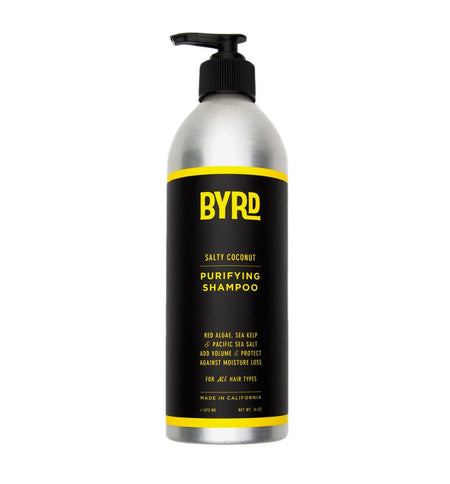 Byrd Purifying Shampoo 16oz - Grooming - Iron and Resin