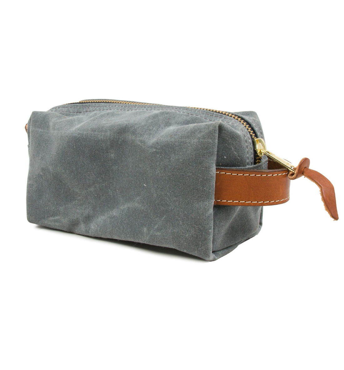 Owen & Fred Explore Waxed Canvas Shaving Kit Bag - Grooming - Iron and Resin