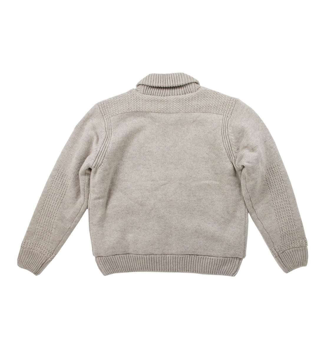 Schott Shawl Collar Sweater Jacket - Tops - Iron and Resin