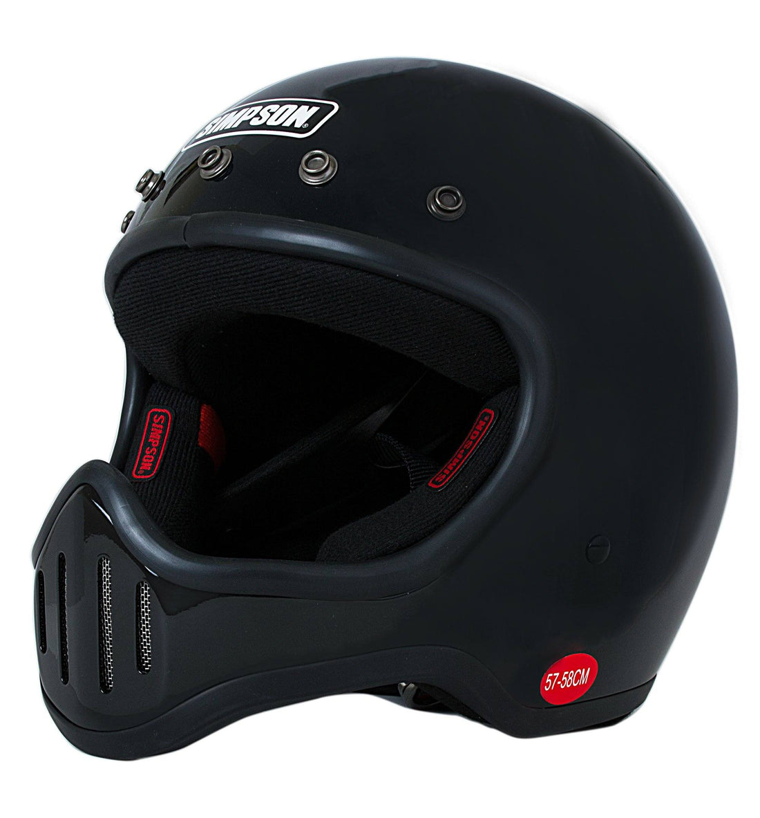 Simpson Helmets M50 - Riding - Iron and Resin
