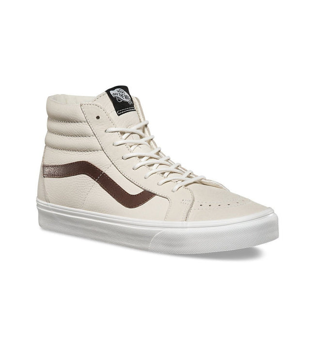 Vans SK8-Hi Reissue Leather - Shoes: Men's - Iron and Resin