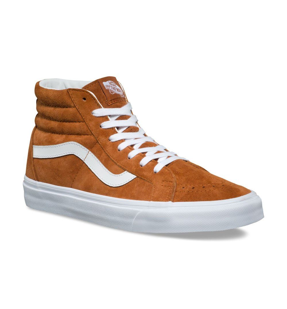 0e19426f42 ... Vans SK8-HI REISSUE Pig Suede - Sneakers - Iron and Resin ...