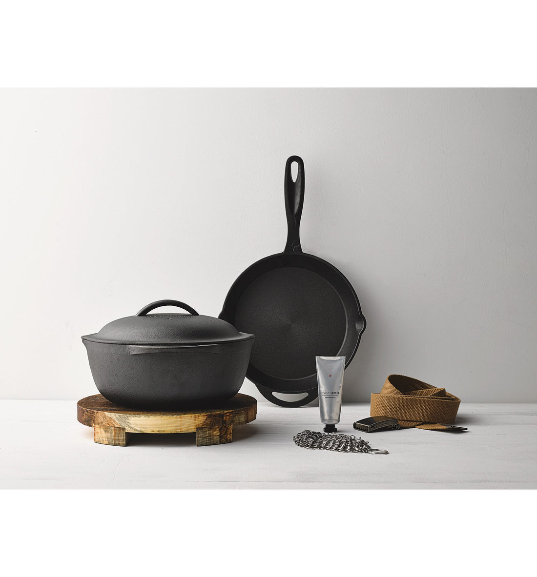 "Barebones Living - 10"" Cast Iron Kit - Kitchen/Bar - Iron and Resin"