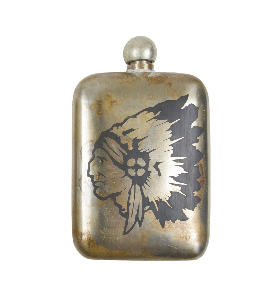 The Chieftain Noble Flask - Houseware: Flasks - Iron and Resin