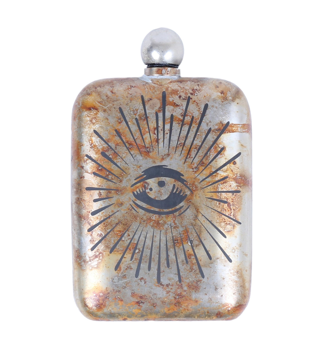 The Sneerwell, The Eye of Providence Noble Flask - Houseware: Flasks - Iron and Resin