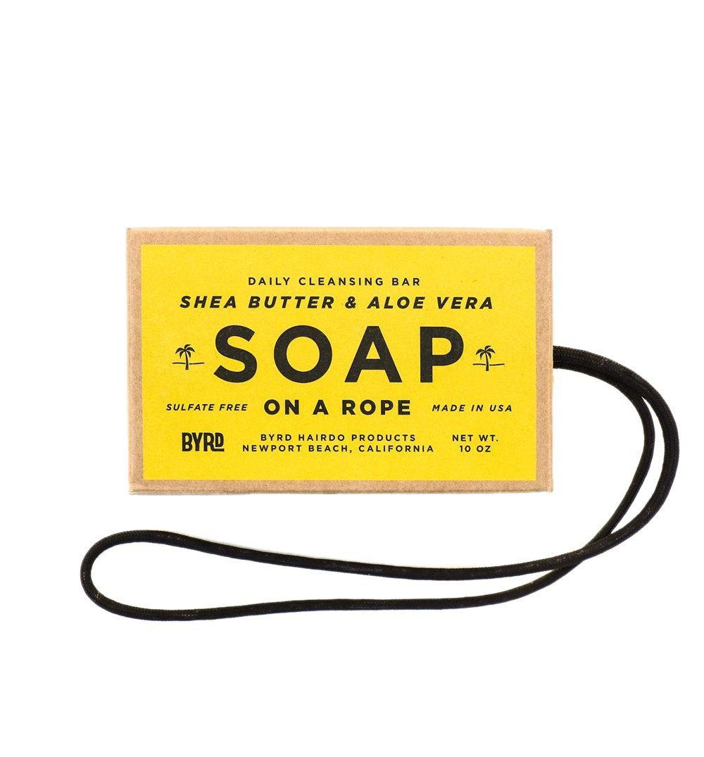 Byrd Soap On A Rope Iron And Resin