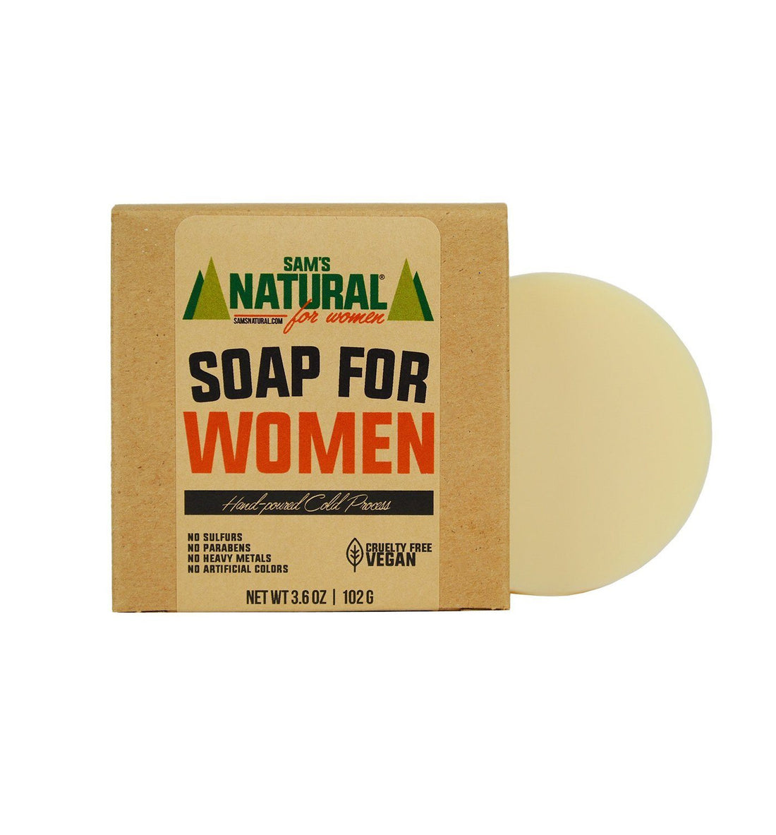Sam's Natural Soap for Women - Grooming - Iron and Resin