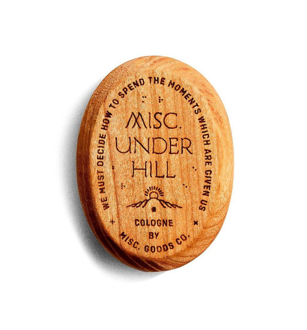 Misc Goods Co. Solid Cologne - Underhill - Grooming - Iron and Resin