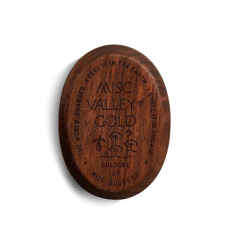 Misc Goods Co. Solid Cologne - Valley of Gold - Grooming - Iron and Resin