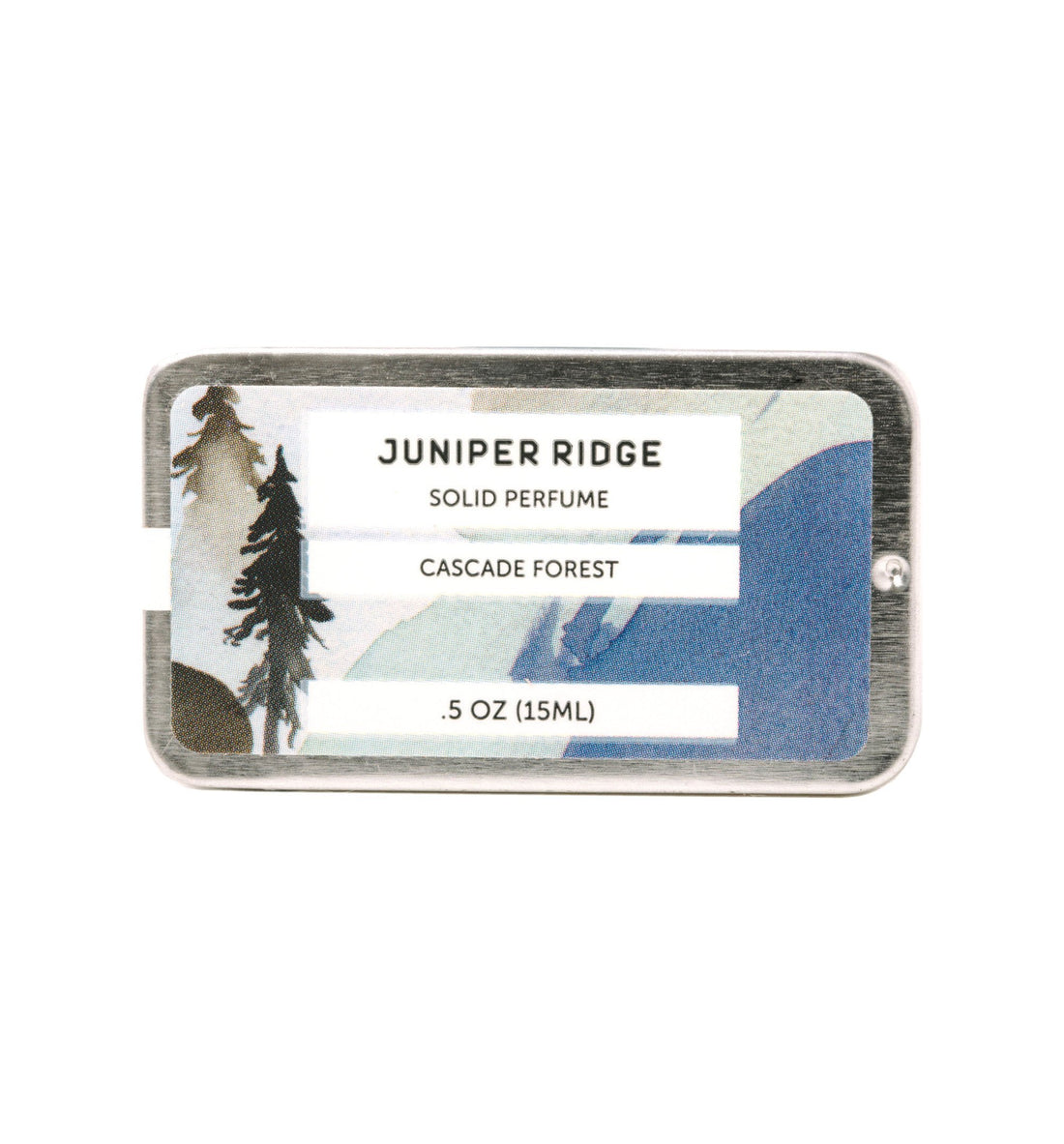 Juniper Ridge Solid Perfume - Cascade Forest - .5oz - Grooming - Iron and Resin