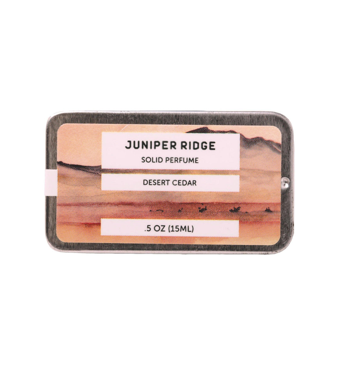 Juniper Ridge Solid Perfume - Desert Cedar - .5oz - Grooming - Iron and Resin