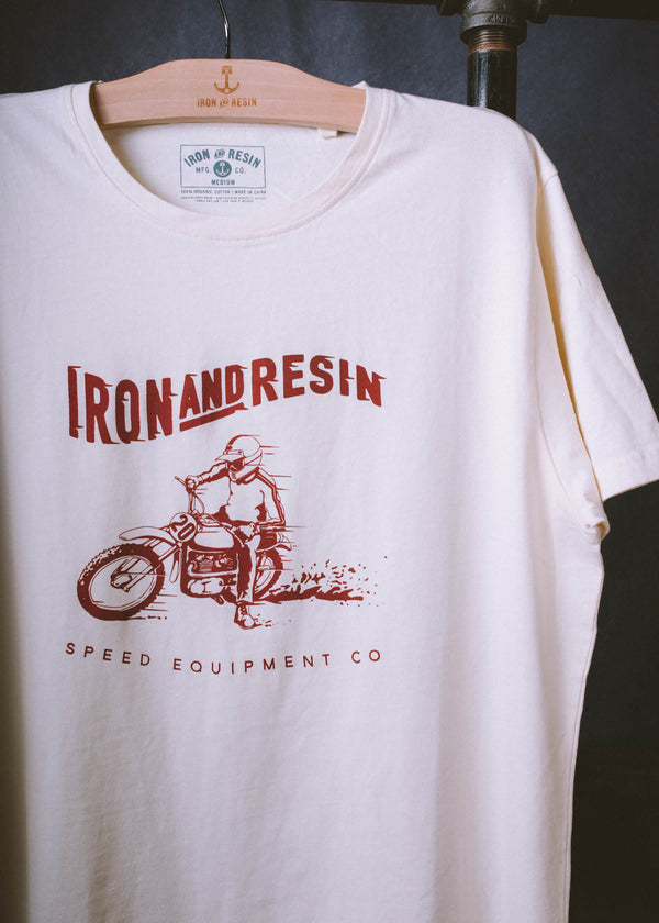Iron & Resin Hot Shoe Tee in Natural