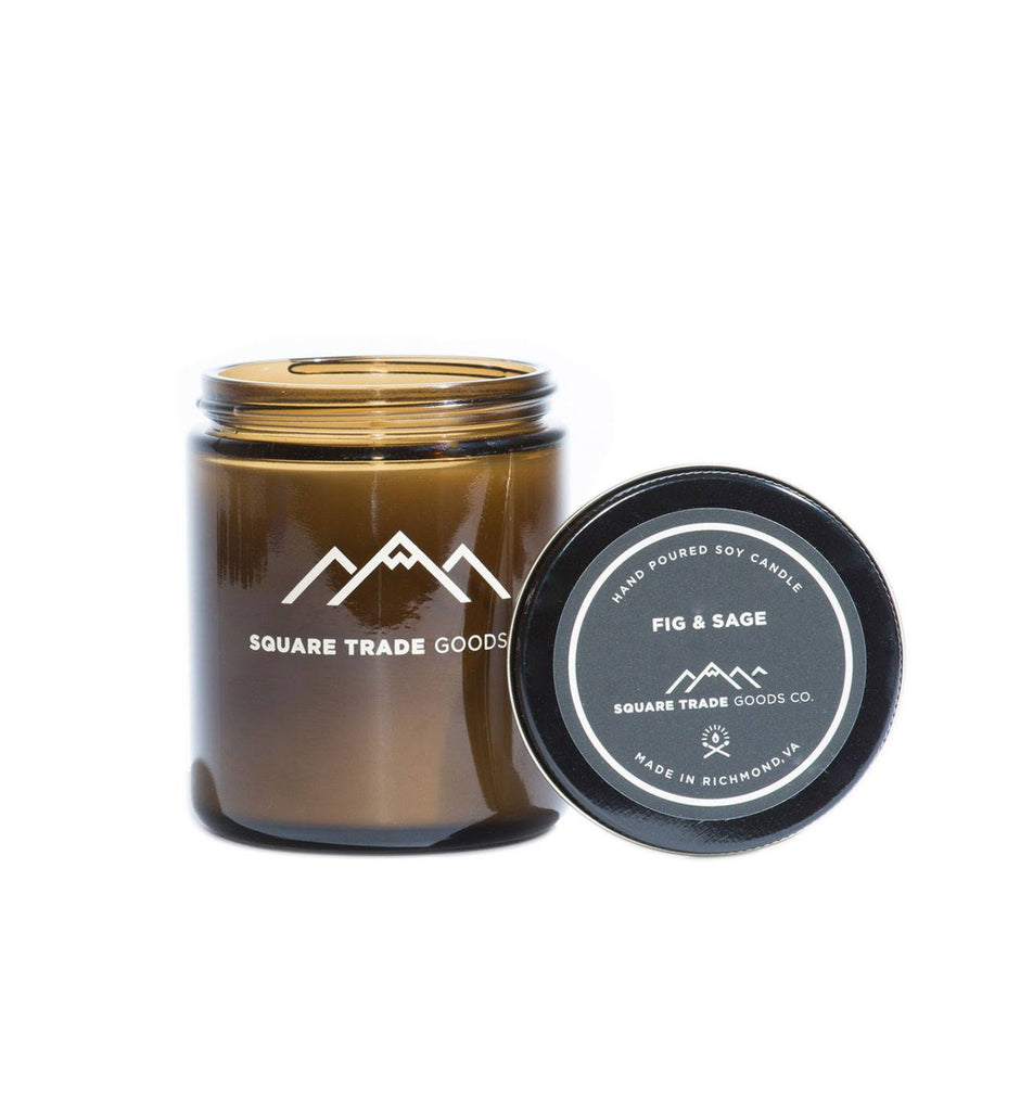 Square Trade Goods Candle - Fig & Sage