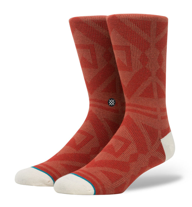 Stance Blackhills Socks, Red, L - Accessories: Socks - Iron and Resin