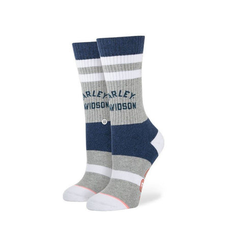 Stance Women's Davidson Socks - Blue - Socks/Underwear - Iron and Resin