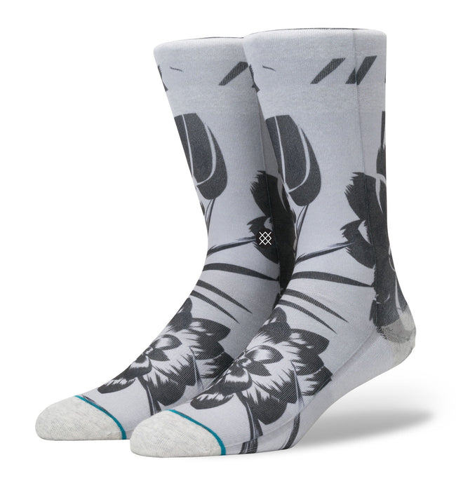 Stance Floralite, L/XL - Accessories: Socks - Iron and Resin