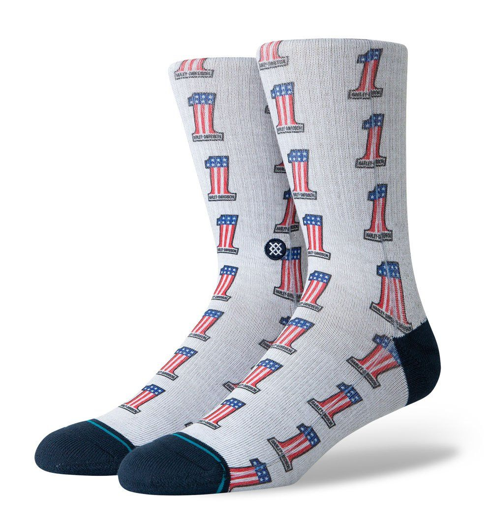 Stance Harley One Americana Socks - Socks/Underwear - Iron and Resin