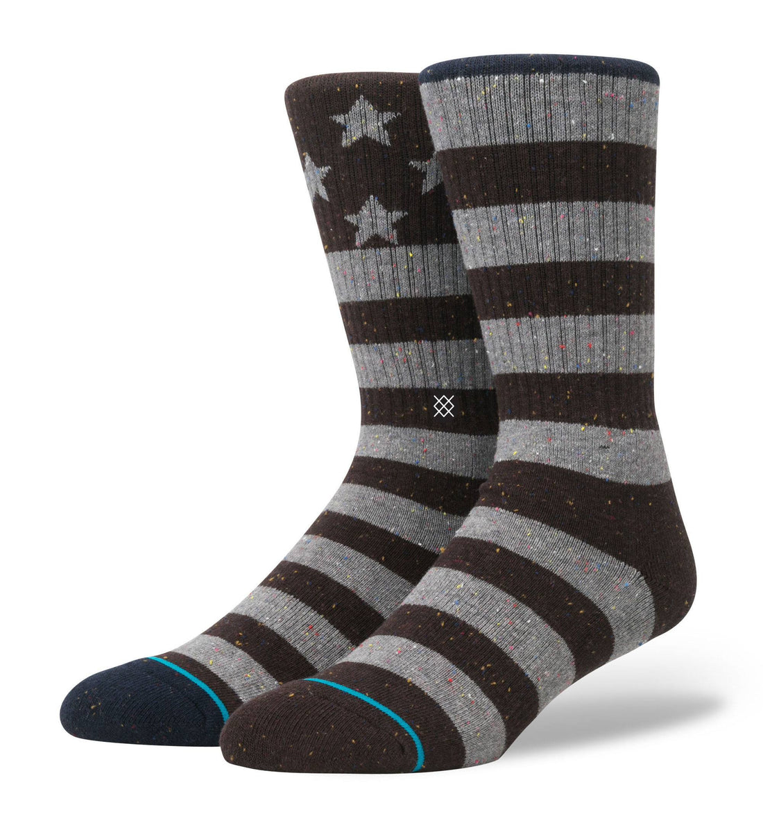 Stance Lone Ranger, Nvy/Brn, L/XL - Socks/Underwear - Iron and Resin