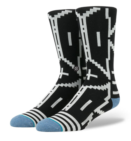 Stance Lulua, L/XL - Accessories: Socks - Iron and Resin