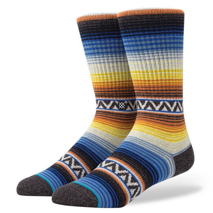 Stance Sun Burst Socks - Accessories: Socks - Iron and Resin