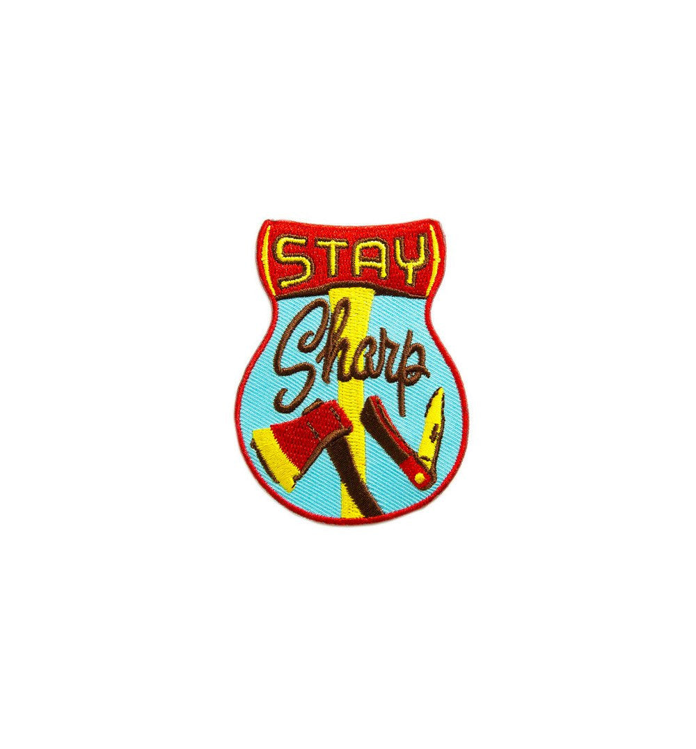 Kimberlin Co. Patch - Stay Sharp - Stickers/Pins/Patches - Iron and Resin