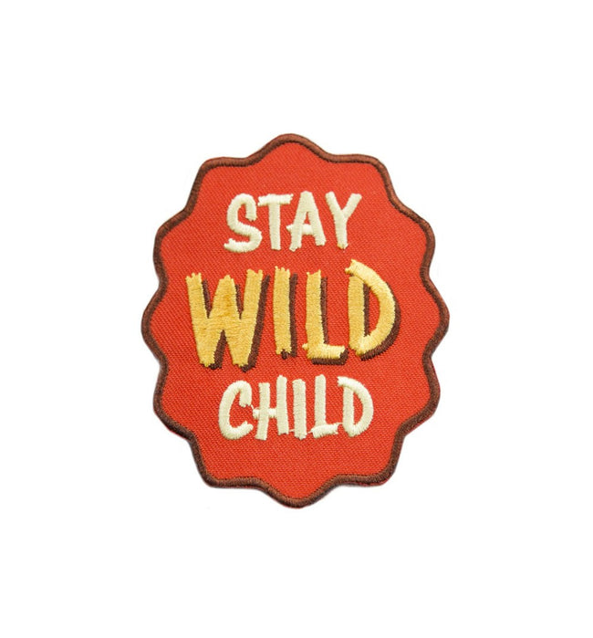 Kimberlin Co. Patch - Stay Wild Child - Accessories: Patches - Iron and Resin