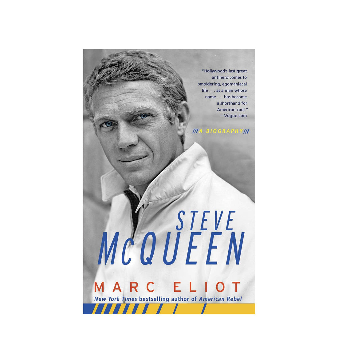 Steve McQueen - Paperback - Home Essentials - Iron and Resin