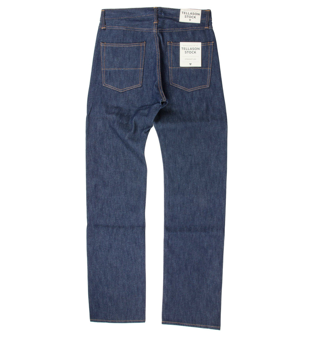 Tellason Stock Straight Leg 14 oz. Jean - Bottoms - Iron and Resin