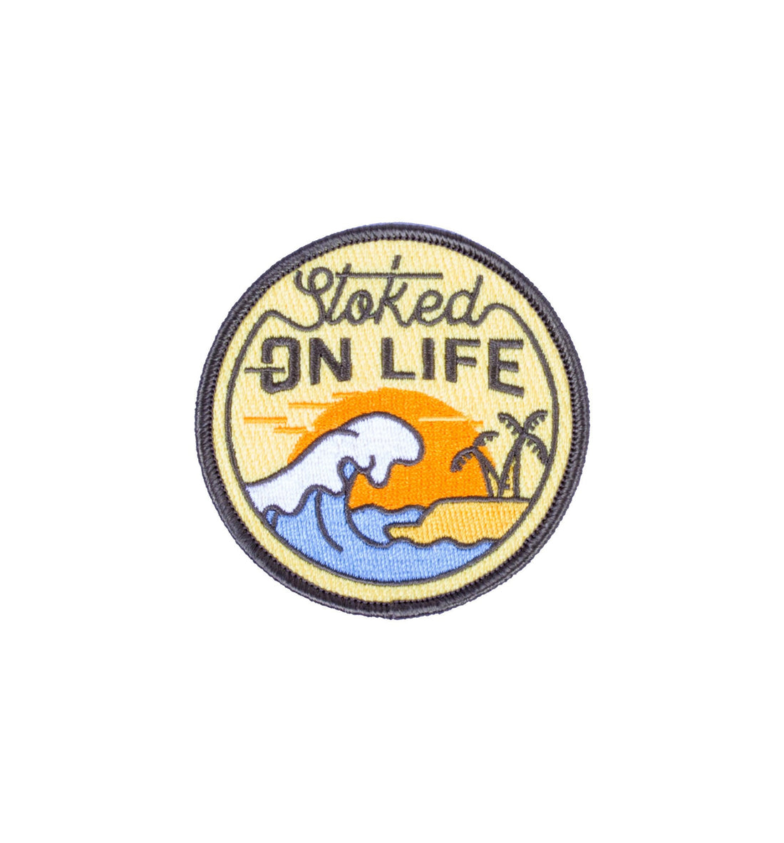 Asilda - Stoked On Life Patch - Accessories: Patches - Iron and Resin