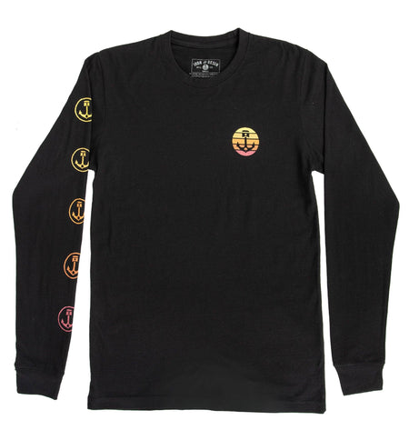 Sundowner L/S Tee - Tops - Iron and Resin