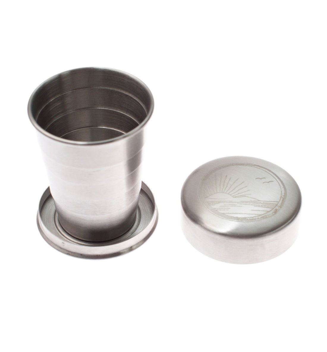 Izola Collapsible Travel Cup, Sunrise