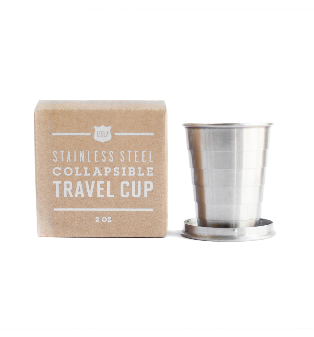 Izola Collapsible Travel Cup, Sunrise - Camping: Tools - Iron and Resin