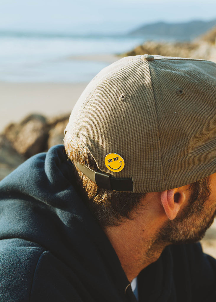 Iron & Resin Surf Happy Enamel Pin