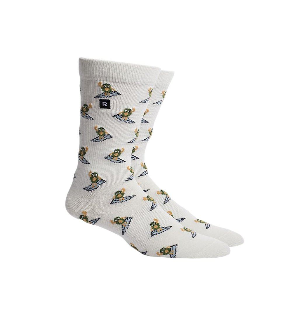 Richer Poorer Inc Surfin Avo Sock - Natural - Socks/Underwear - Iron and Resin