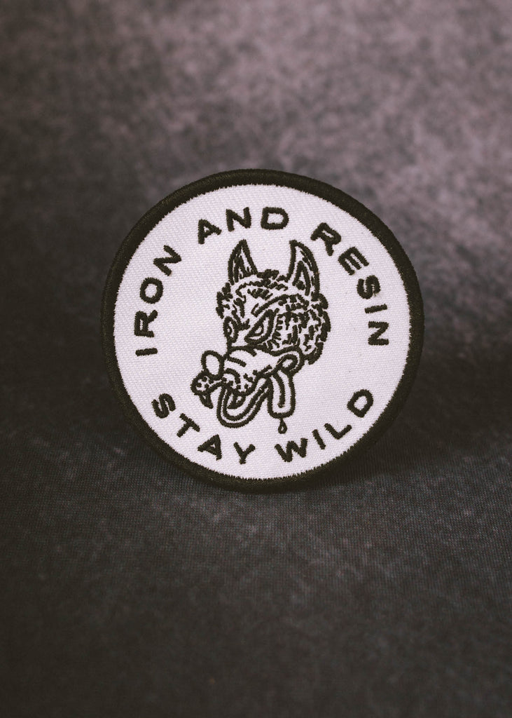 Iron & Resin Stay Wild Patch