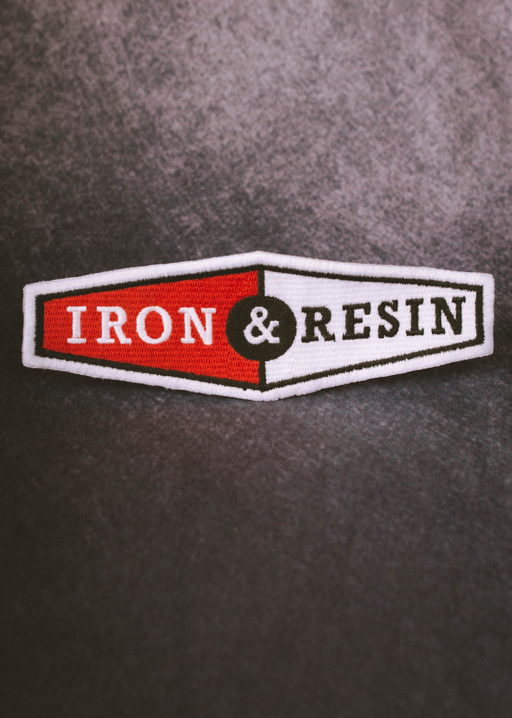 Iron & Resin Two Tone Patch