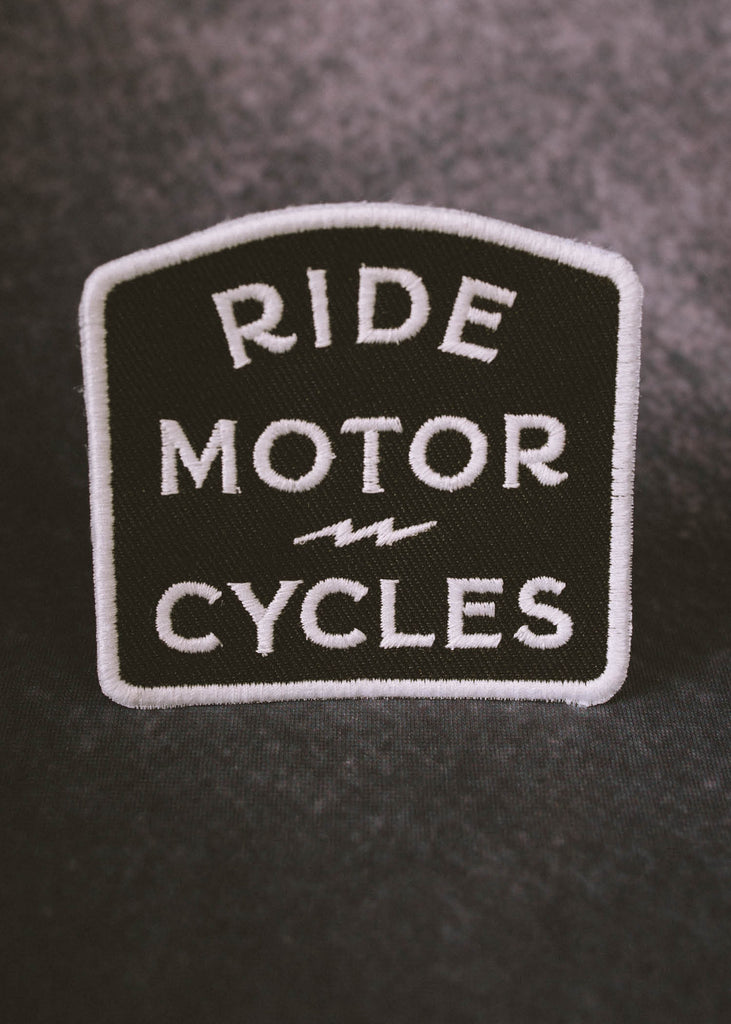 Iron & Resin Ride Motorcycles Patch