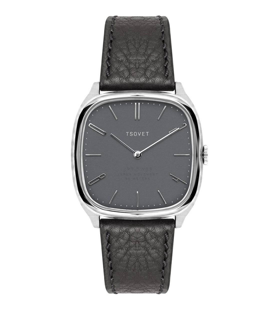 Tsovet Stainless/Black/Black - Accessories: Watches - Iron and Resin