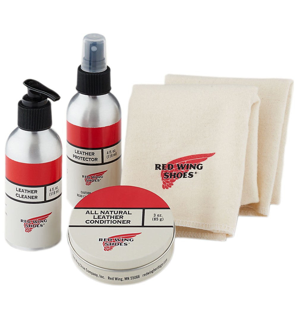 Red Wing Tanned Leather Care Product Kit - Footwear Essentials - Iron and Resin