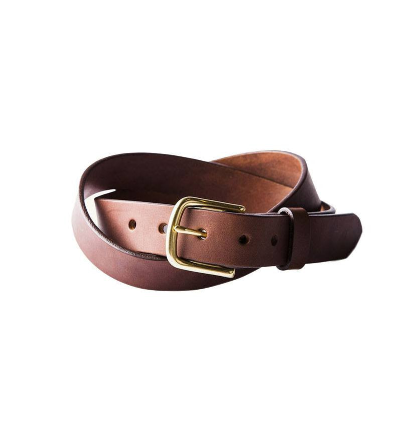 Tanner Goods - Classic Belt - Accessories: Belts: Men's - Iron and Resin