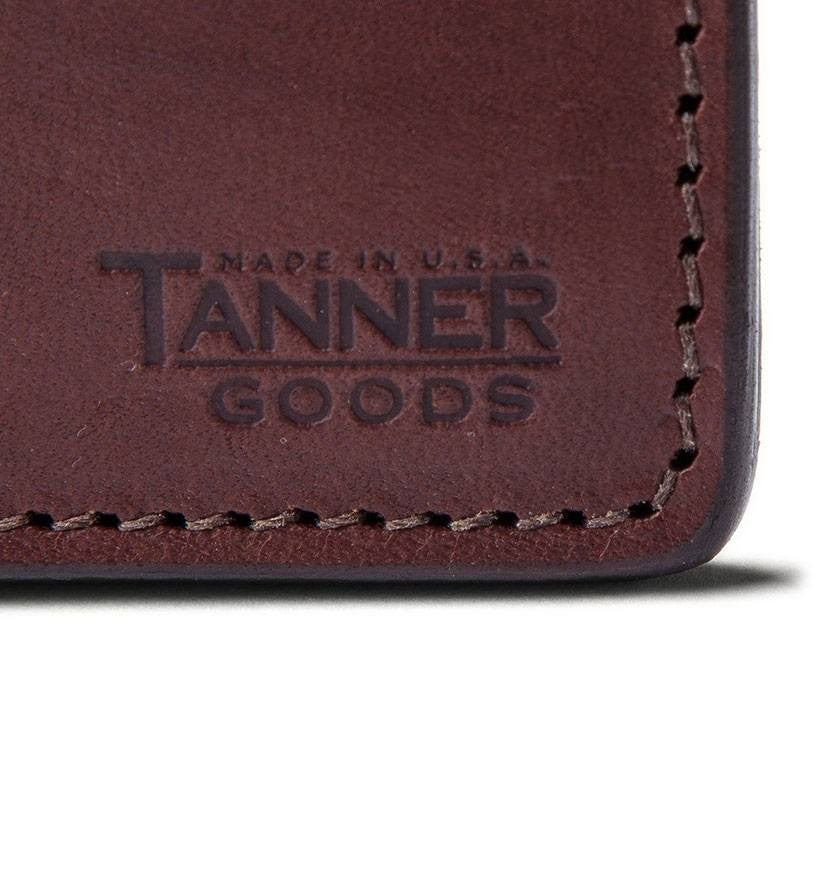 Tanner Goods - Journeyman Wallet - Accessories: Wallets - Iron and Resin