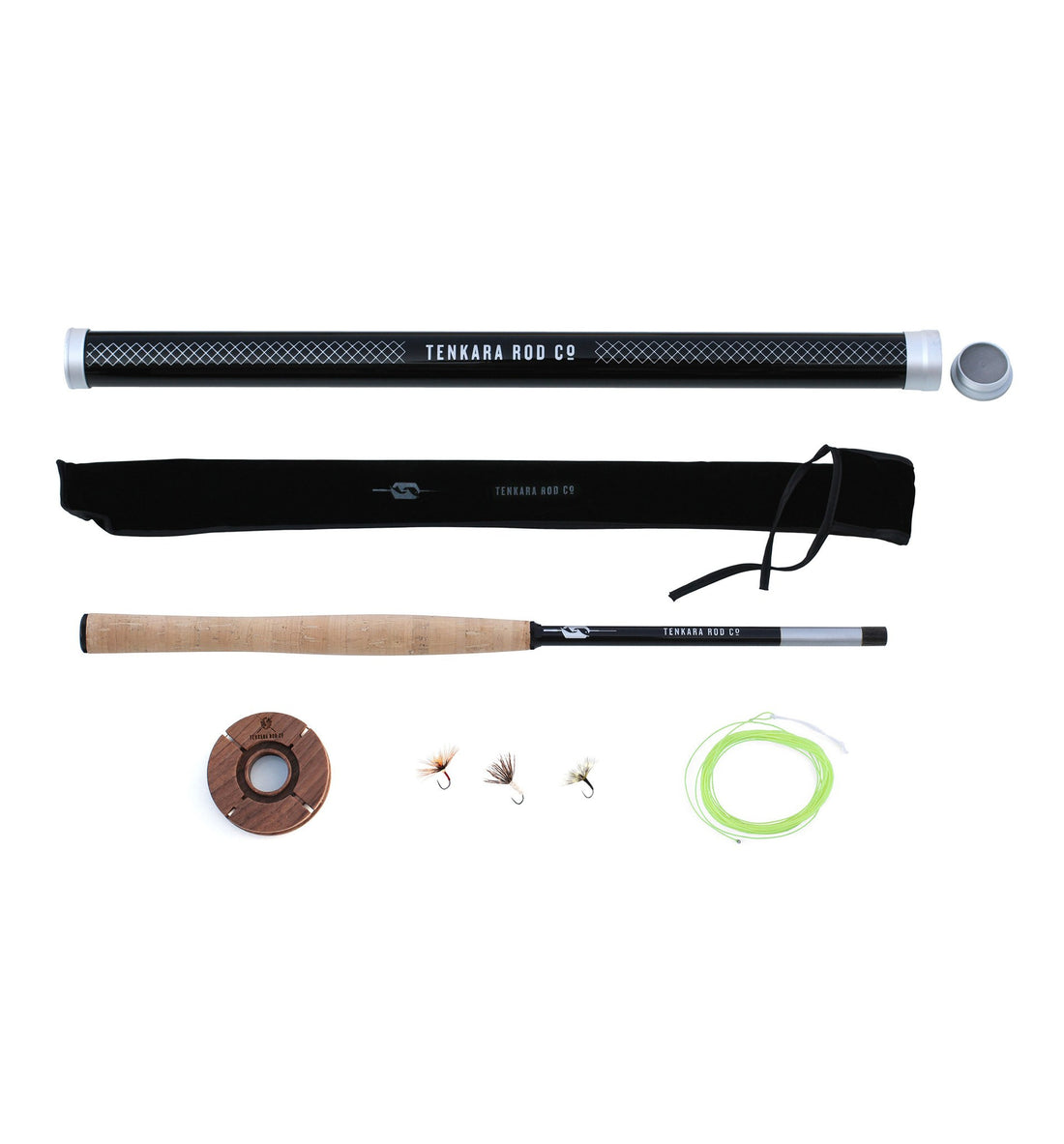 Tenkara Teton Package - Camping - Iron and Resin