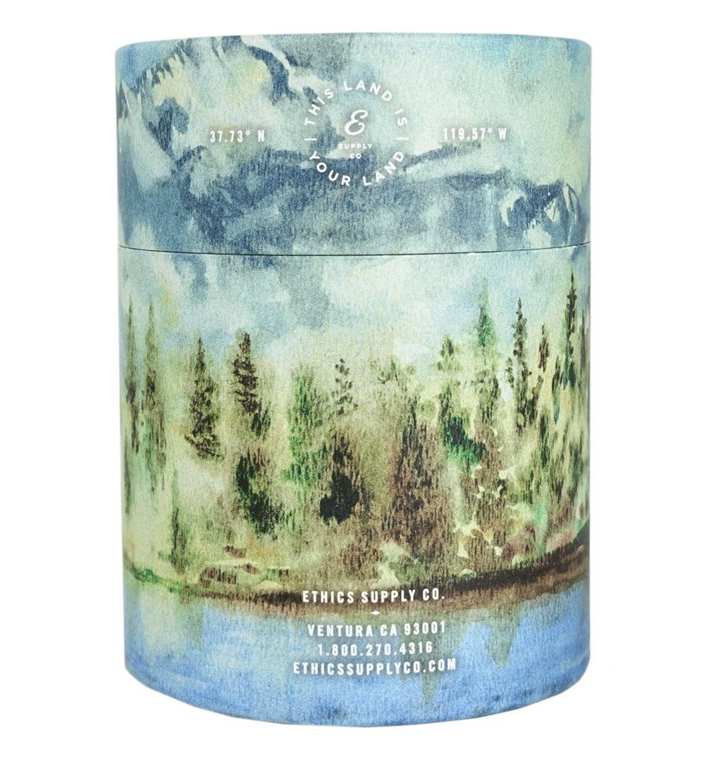 National Park Candle - The High One - Home Essentials - Iron and Resin