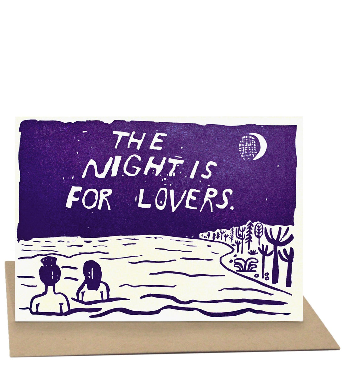 People I've Loved - The Night Card - Art/Prints - Iron and Resin