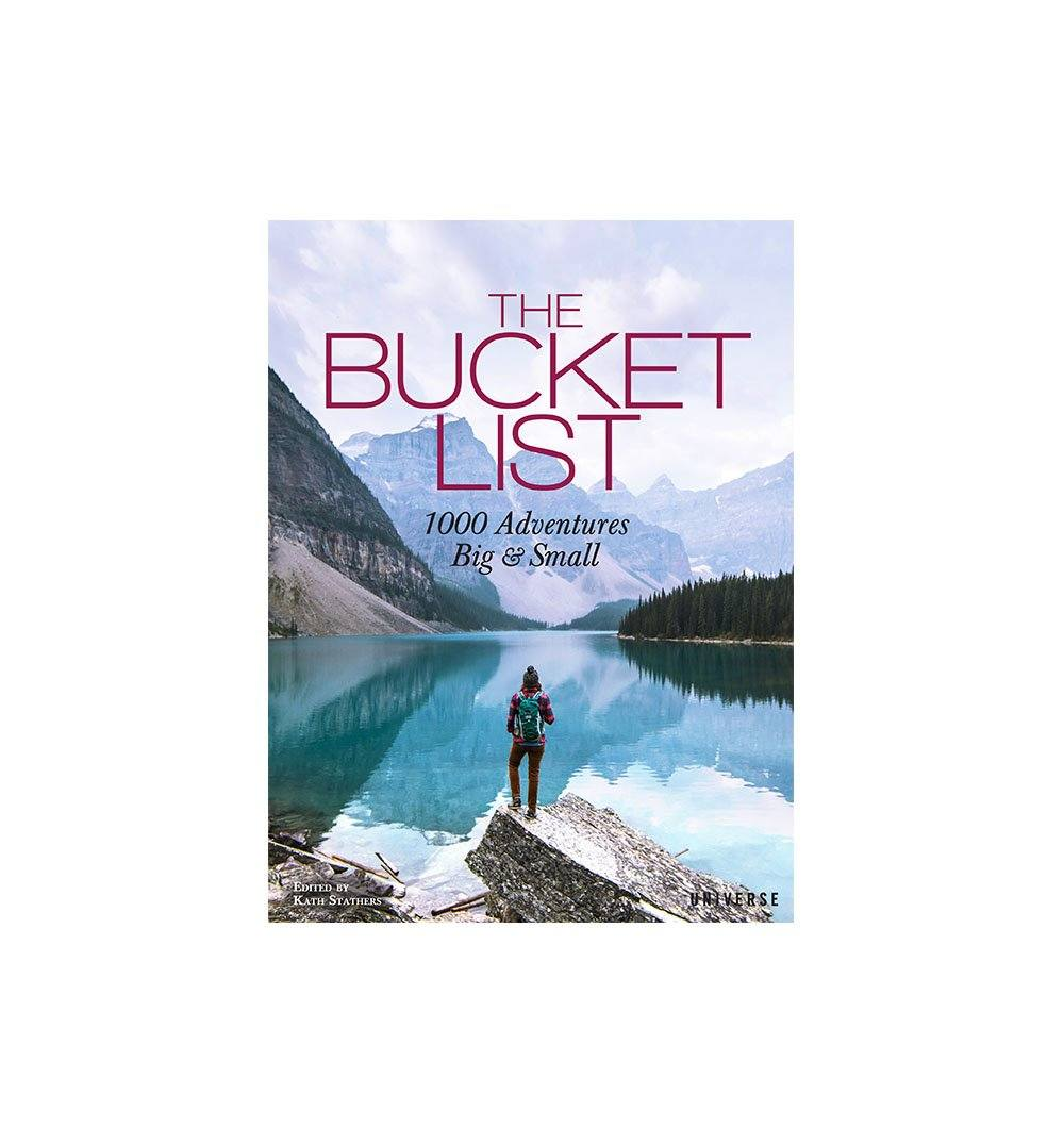 The Bucket List - Hardcover - Home Essentials - Iron and Resin