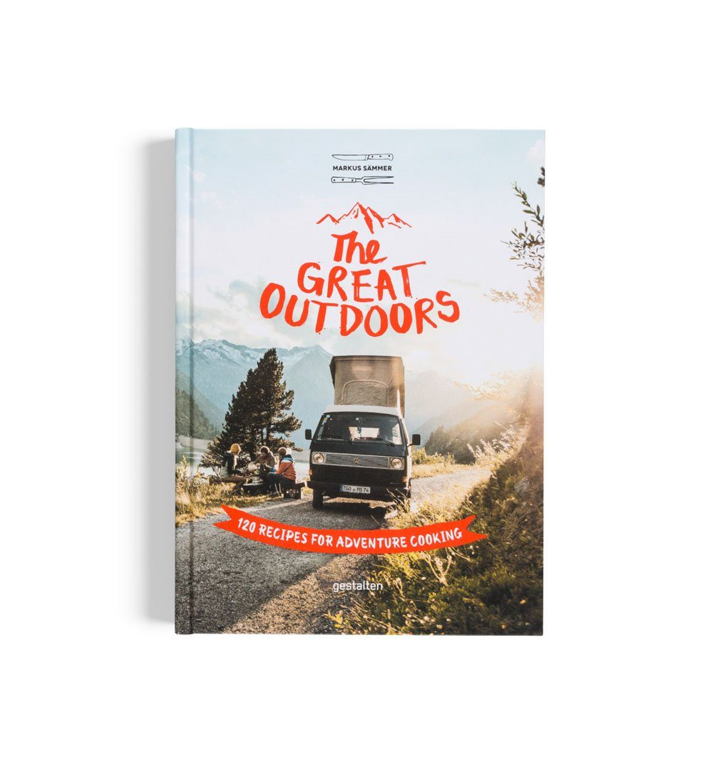The Great Outdoors - 120 Recipes for Adventure Cooking - Home Essentials - Iron and Resin