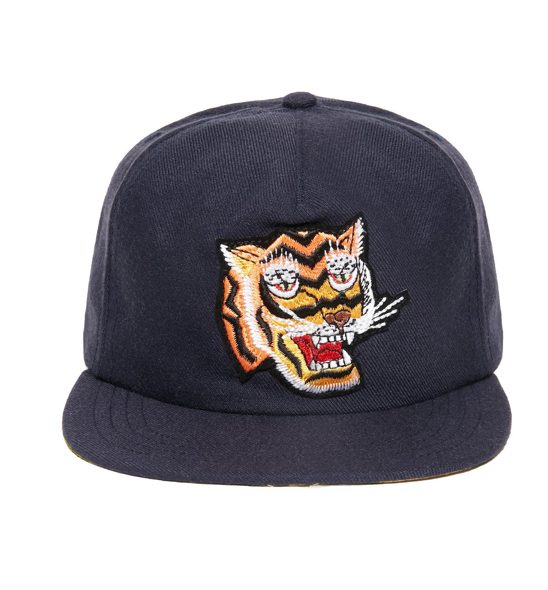 The Ampal Creative Tiger Strapback Hat - Accessories: Headwear: Hats - Iron and Resin
