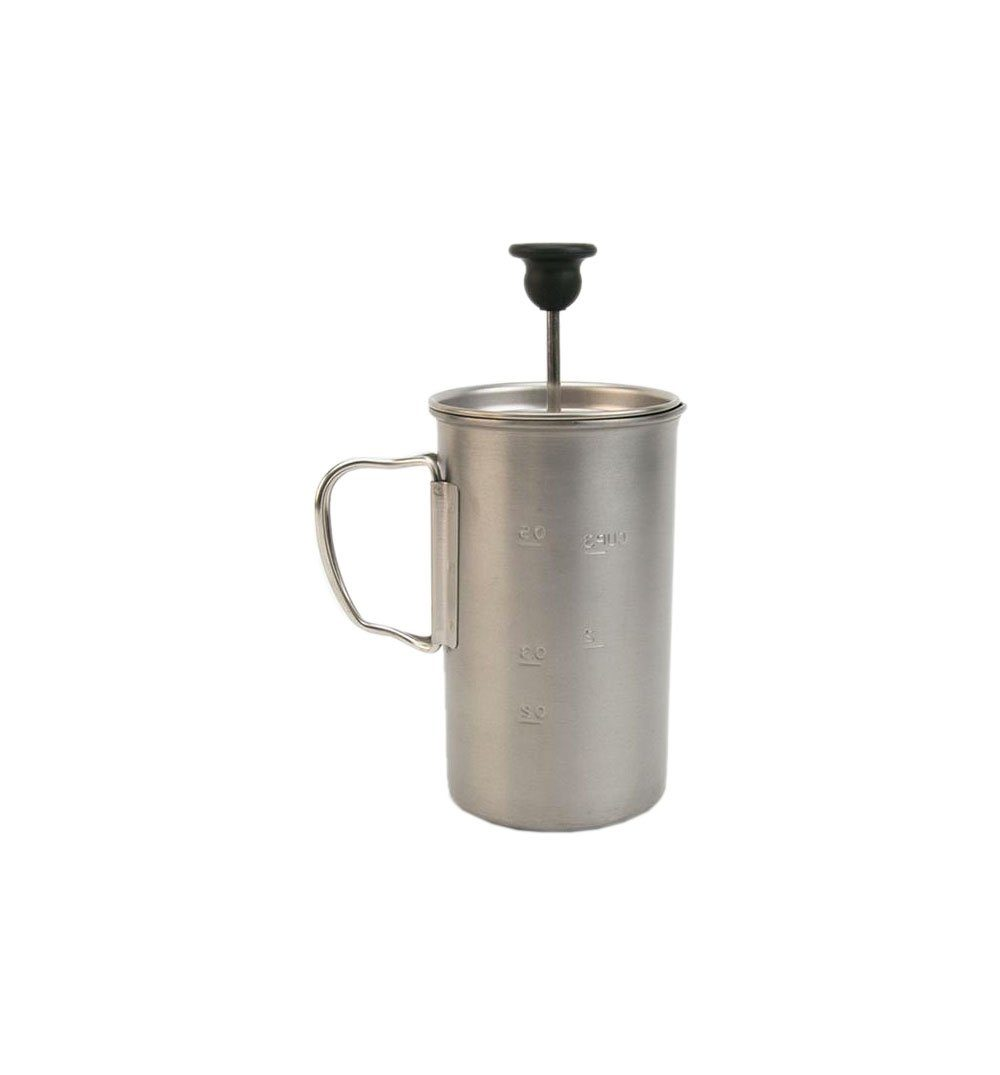 Snow Peak Titanium French Press - Outdoor Living/Travel - Iron and Resin