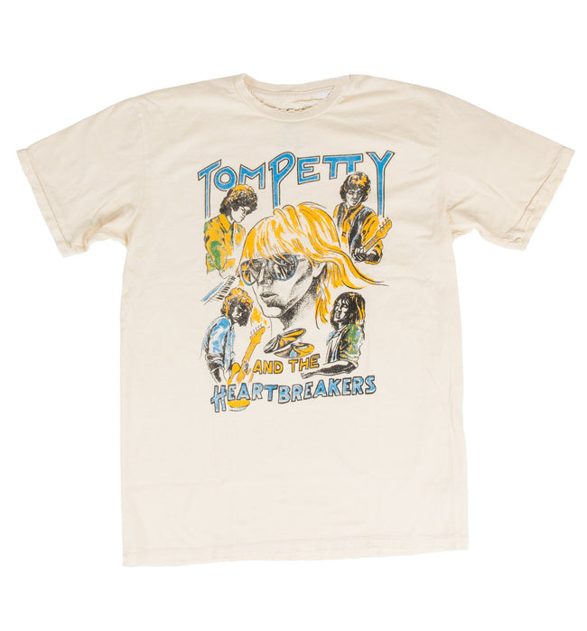 Tom Petty Cartoon Men's Crew - Tops - Iron and Resin